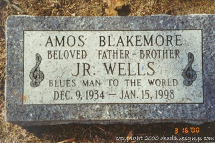 Jr. Wells Headstone - Jody Page - March 2000
