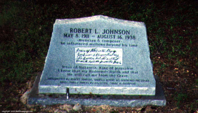 Robert Johnson - Little Zion 001 - Janet Tester - July 22, 2002