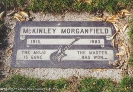 McKinley Morganfield Headstone #2 - Jody Page - March 2000