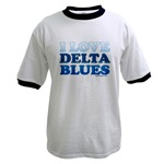I Love Delta Blues (front - blank back)