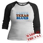 I Love Texas Blues (front - blank back)