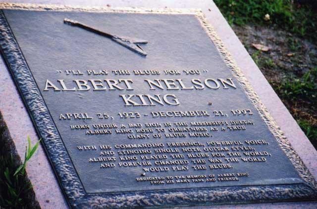 Albert King Grave